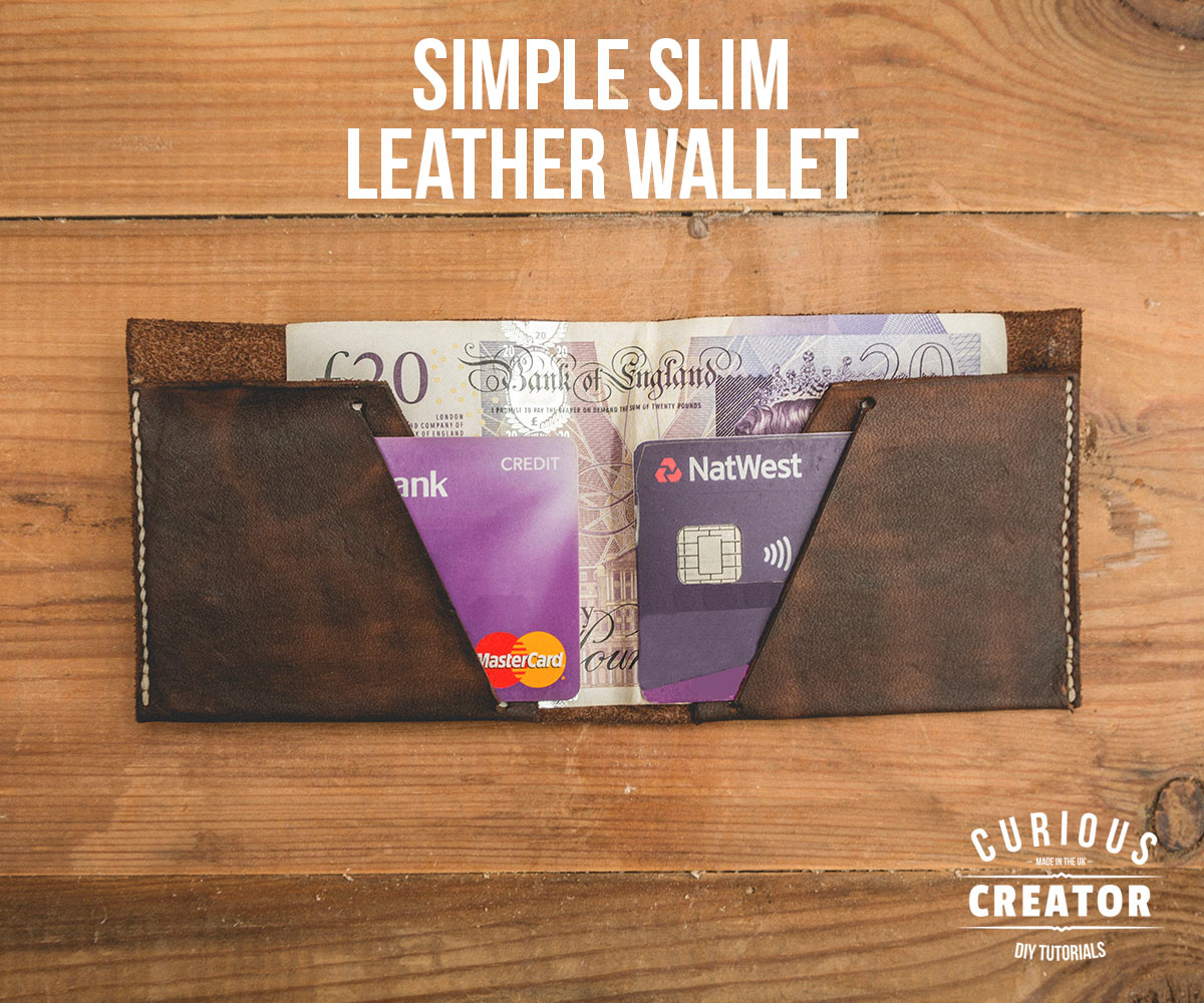 Picture of Simple Slim Leather Wallet