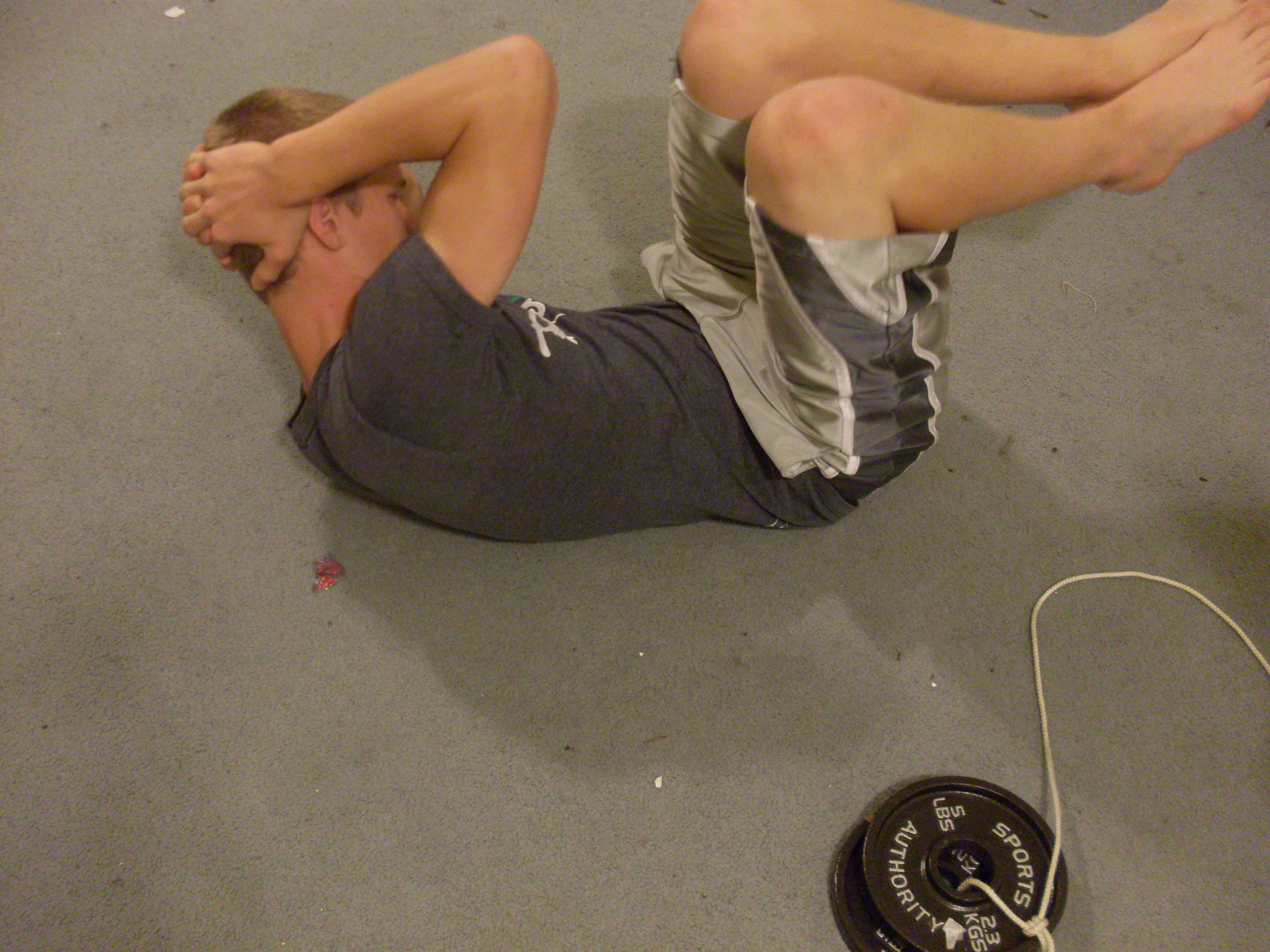 Picture of Circle Crunches