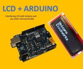 LCD Screen + Arduino
