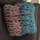 Arm Knitting Basics: Pillow Cover