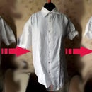Man's shirt to a blouse