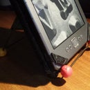 Tablet Stand with Sugru and Coat Hanger