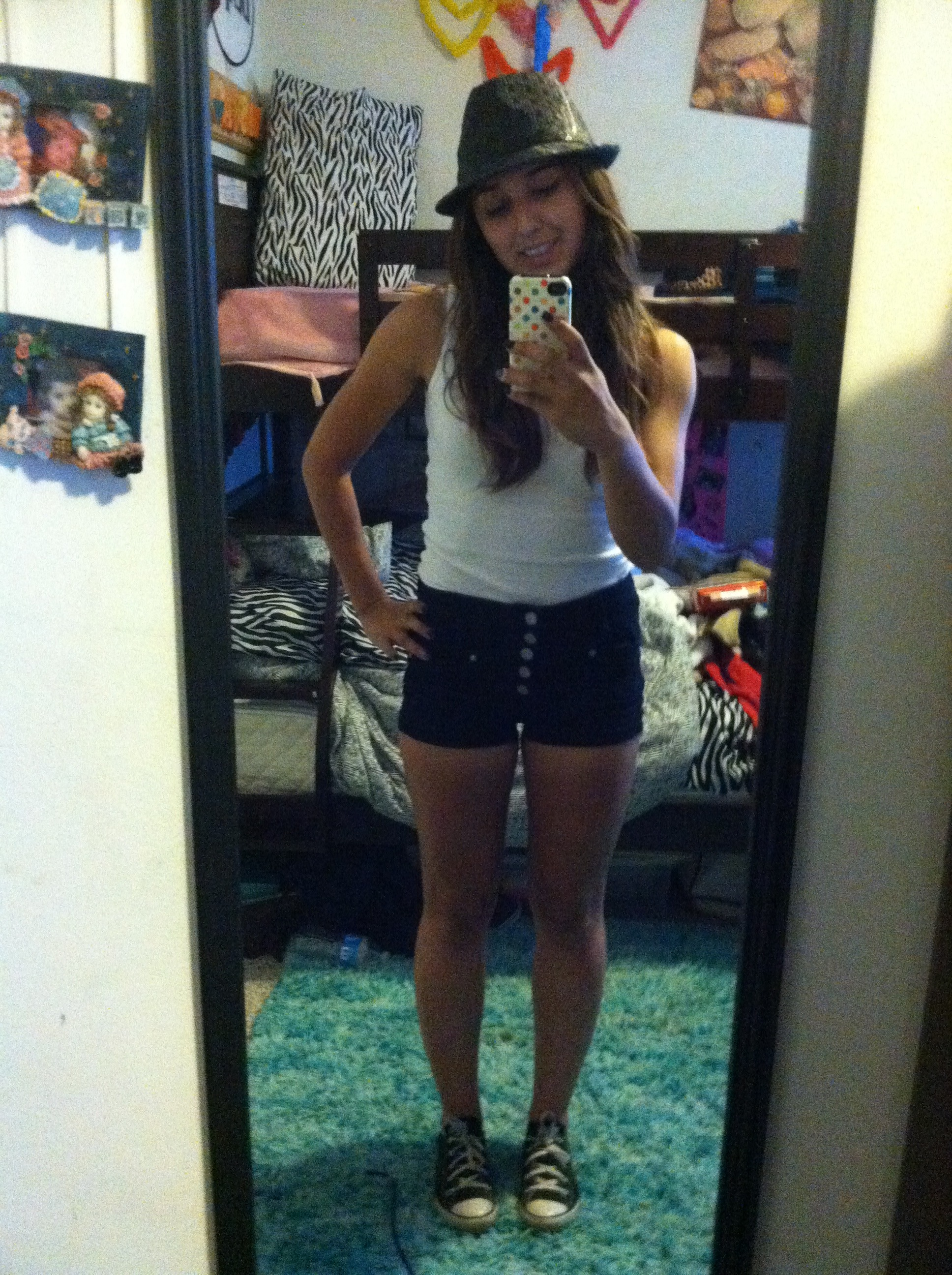 Picture of Cute Summer Outfit for a Hot Day