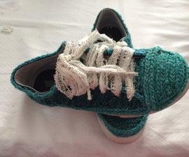 Crocheted Sneaker