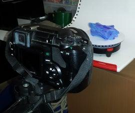 3D scanning (Photogrammetry) with a rotating platform - not a rotating camera!