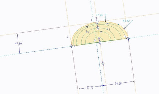 Constructing in CAD