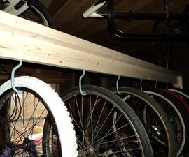 Rolling Six Pack Bike Rack