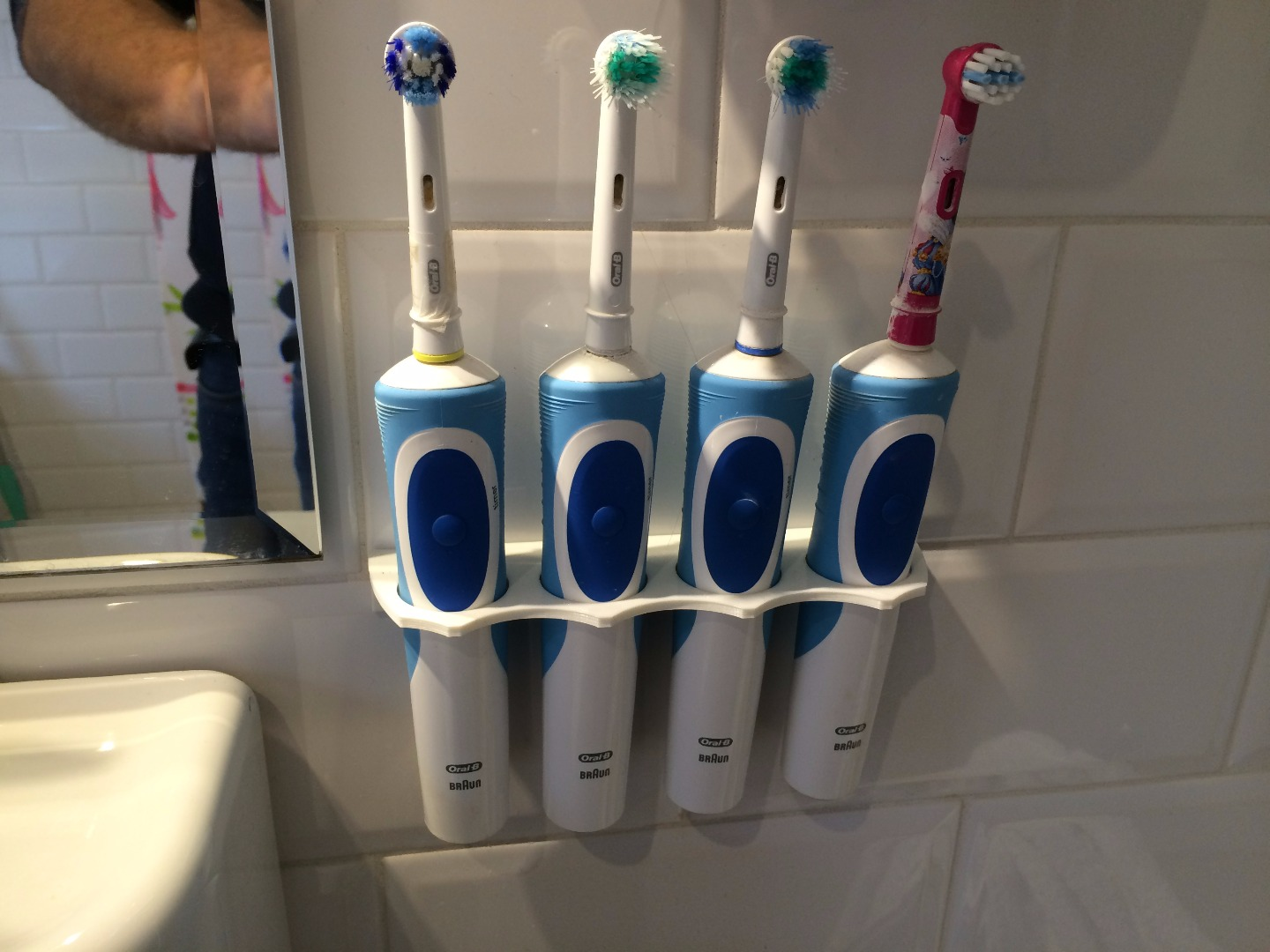 Picture of Electric Tooth Brush Organiser