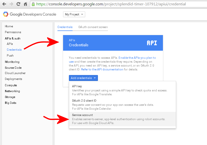 Picture of Set Up and Configure the Google Account