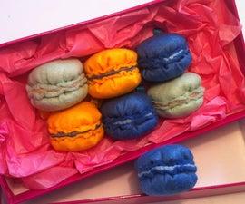 Felt Macaron Plush