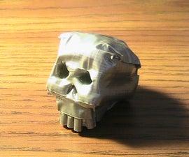 Duct Tape Skull