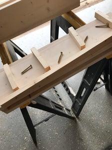 Making the Shelves