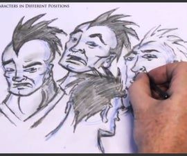 How to Draw Characters in Different Positions