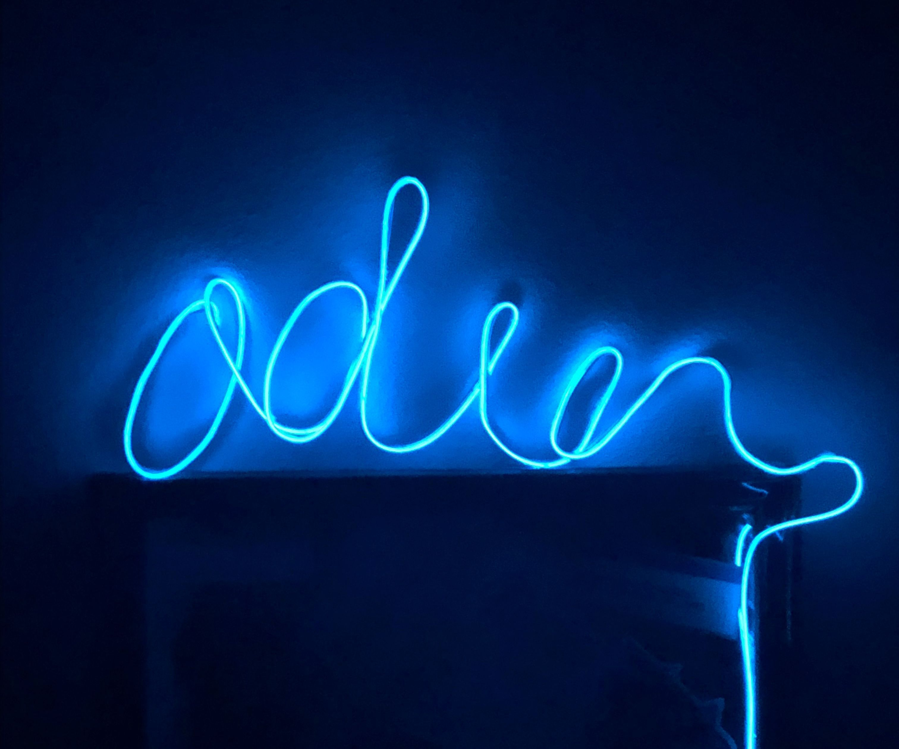 Neon Sign W El Wire 10 Steps With Pictures