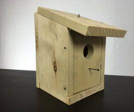 Make a 5 Dollar 5 Minute Birdhouse.