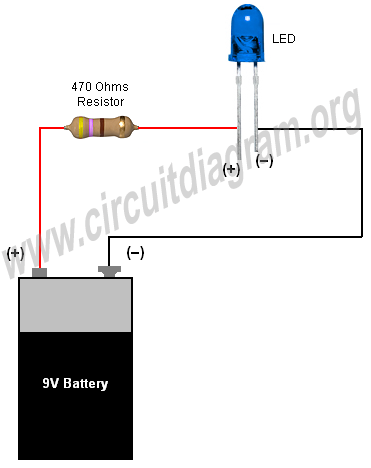 Simple Basic LED Circuit (How to Use LEDs): 4 Steps