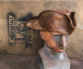 Jack Sparrow Style Tricorn Hat in Leather for Under $30!