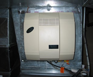 Troubleshoot and Repair a furnace mounted Humidifier