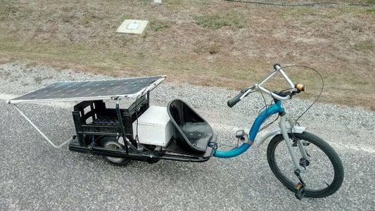 Solar Powered Electric Fat Chopper Bike!