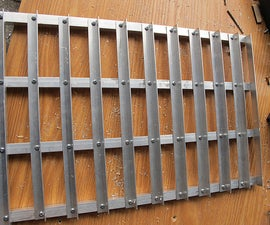 Aluminum Angle Panel for Laser Cutter.