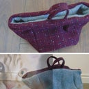 Reversible Soft Pet Basket