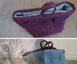 Reversible Soft Pet Basket