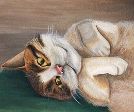 Watercolor Pet Portrait How-To