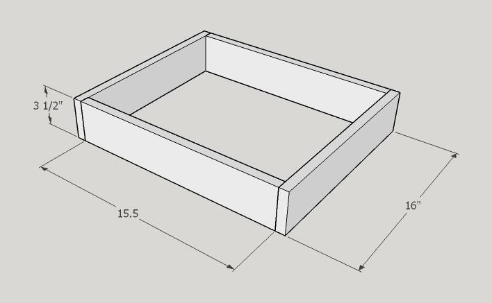 Picture of Smaller Top Drawer