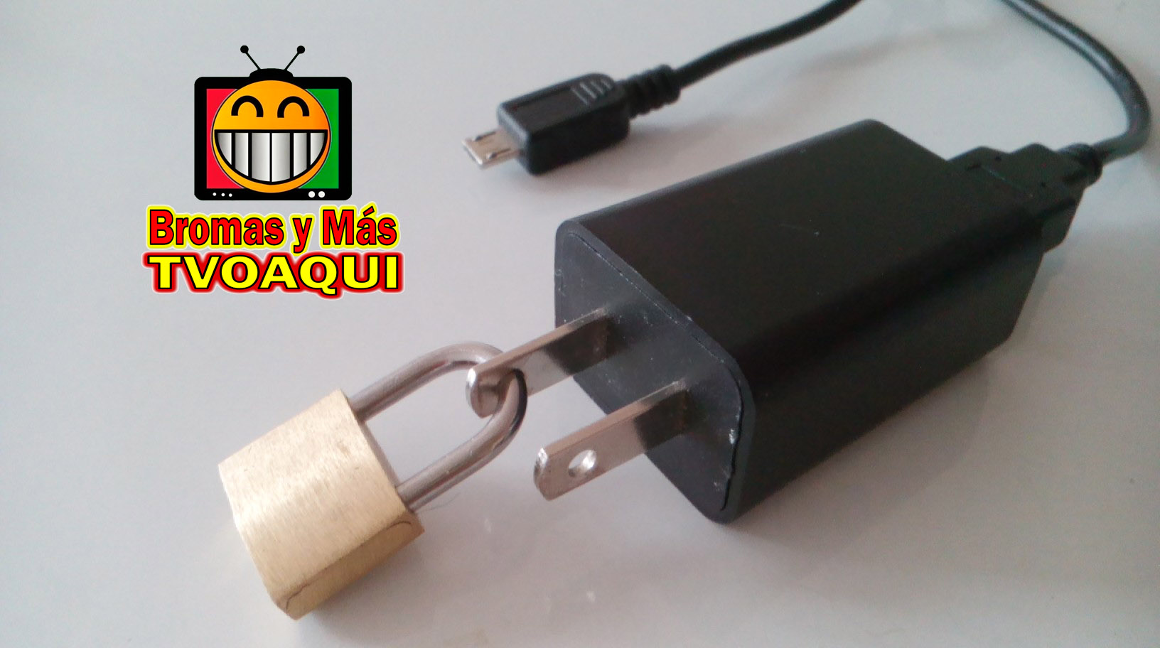 Picture of Cell Phone Charger Blocked