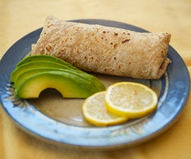 Healthy Quinoa Burritos