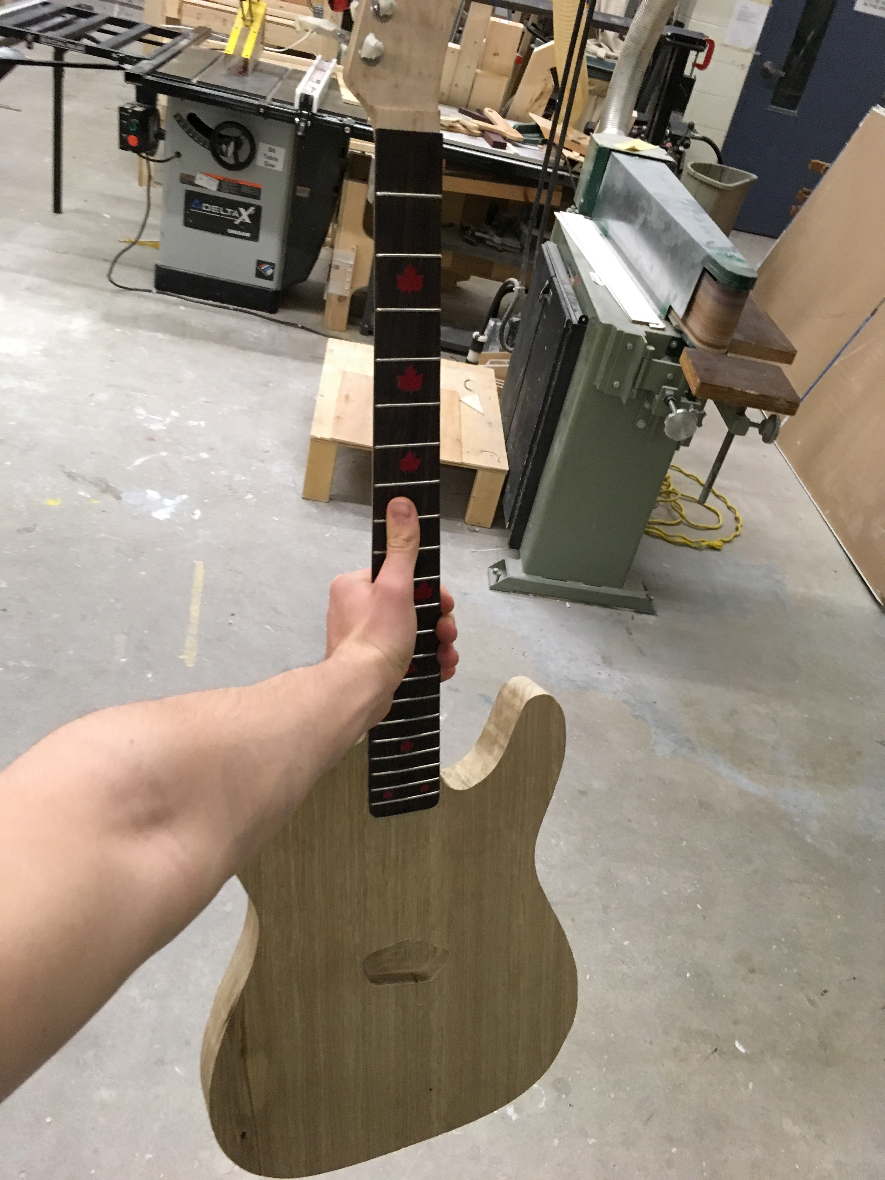 Picture of Fitting the Neck and Body Together