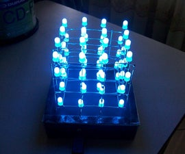 DIY Funky Nightlight: The 4x4x4 LED Cube