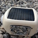 An incredible LED solar bottle torch (Bottorch) from E-waste.
