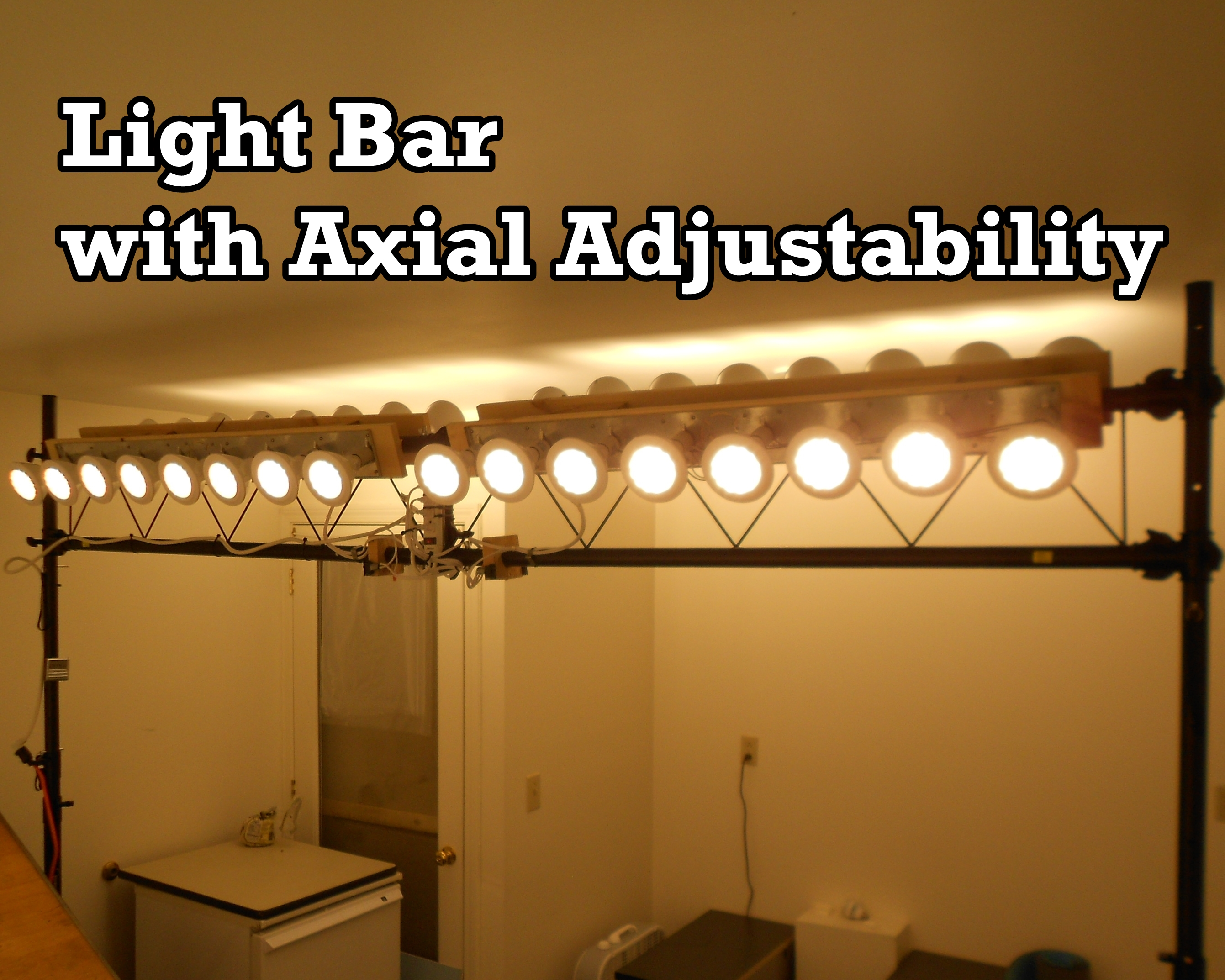 Picture of Light Bar With Axial Adjustability