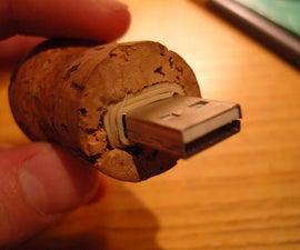 Champagne USB key