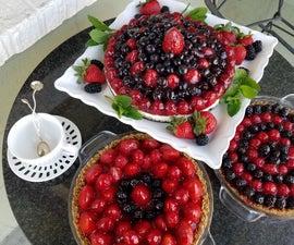 Berries and Cream Breakfast Pie