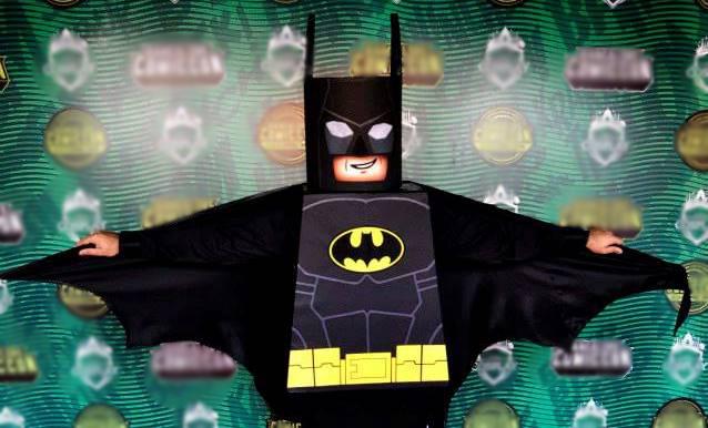 Picture of Cardboard Lego Batman Cosplay
