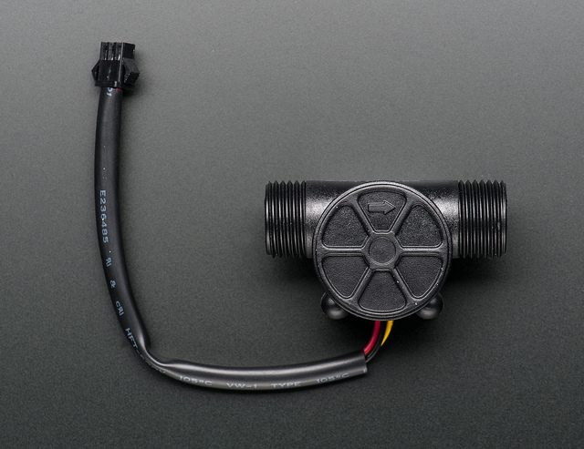 Picture of Testing the Flow Sensor