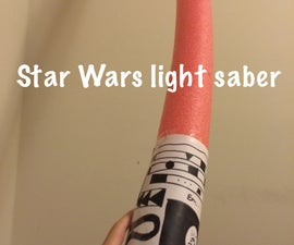How To Make Star Wars Light Saber