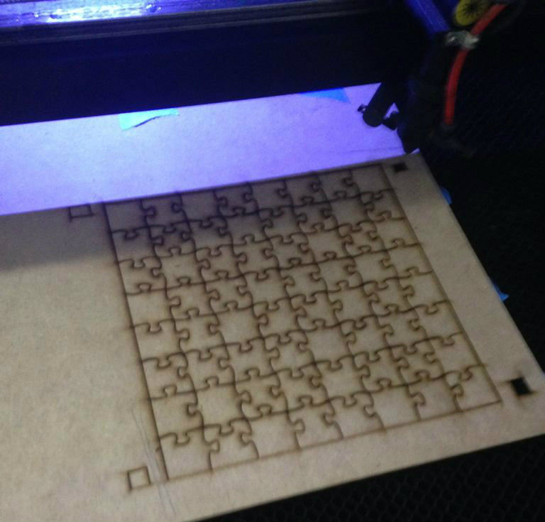 Picture of Load the Dfx File Into Laser Cutting Program and Make Test Cuts