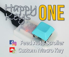 Macro Key : HappyKeys : How to Make a Custom One Key (game, SNS, ETC)