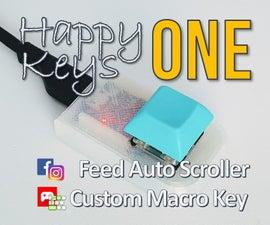 Macro Key : HappyKeys : How to Make a Custom One Key (game, SNS, ETC)