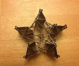 Binder Clip Star