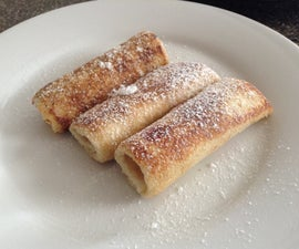 Simple French Toast Roll ups