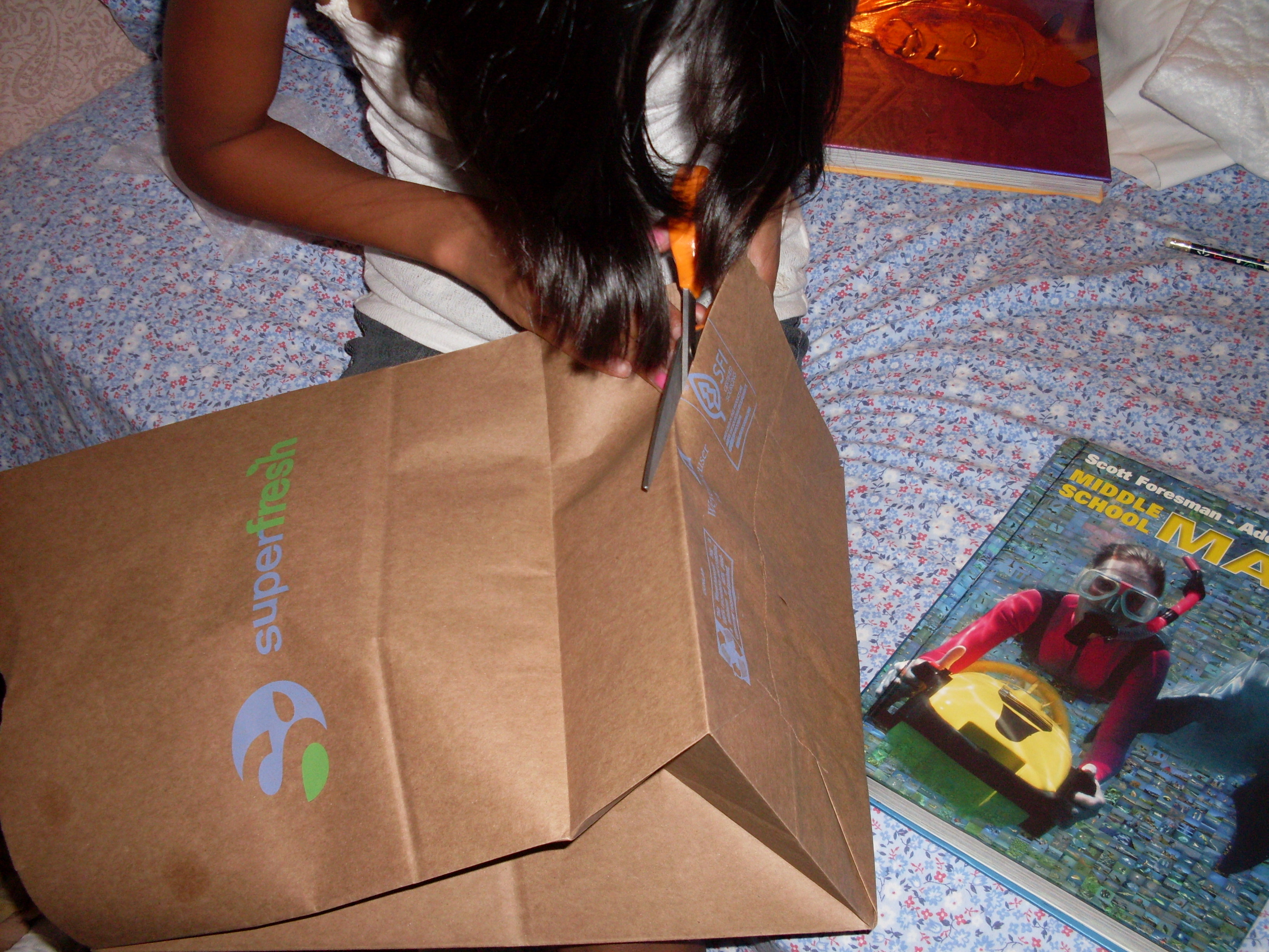 Picture of Cut Open the Paper Bag