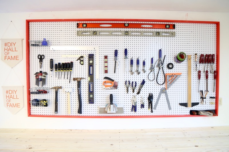 Picture of Organize Your Tools With This Giant Pegboard