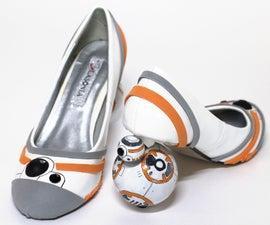 BB-8高跟鞋