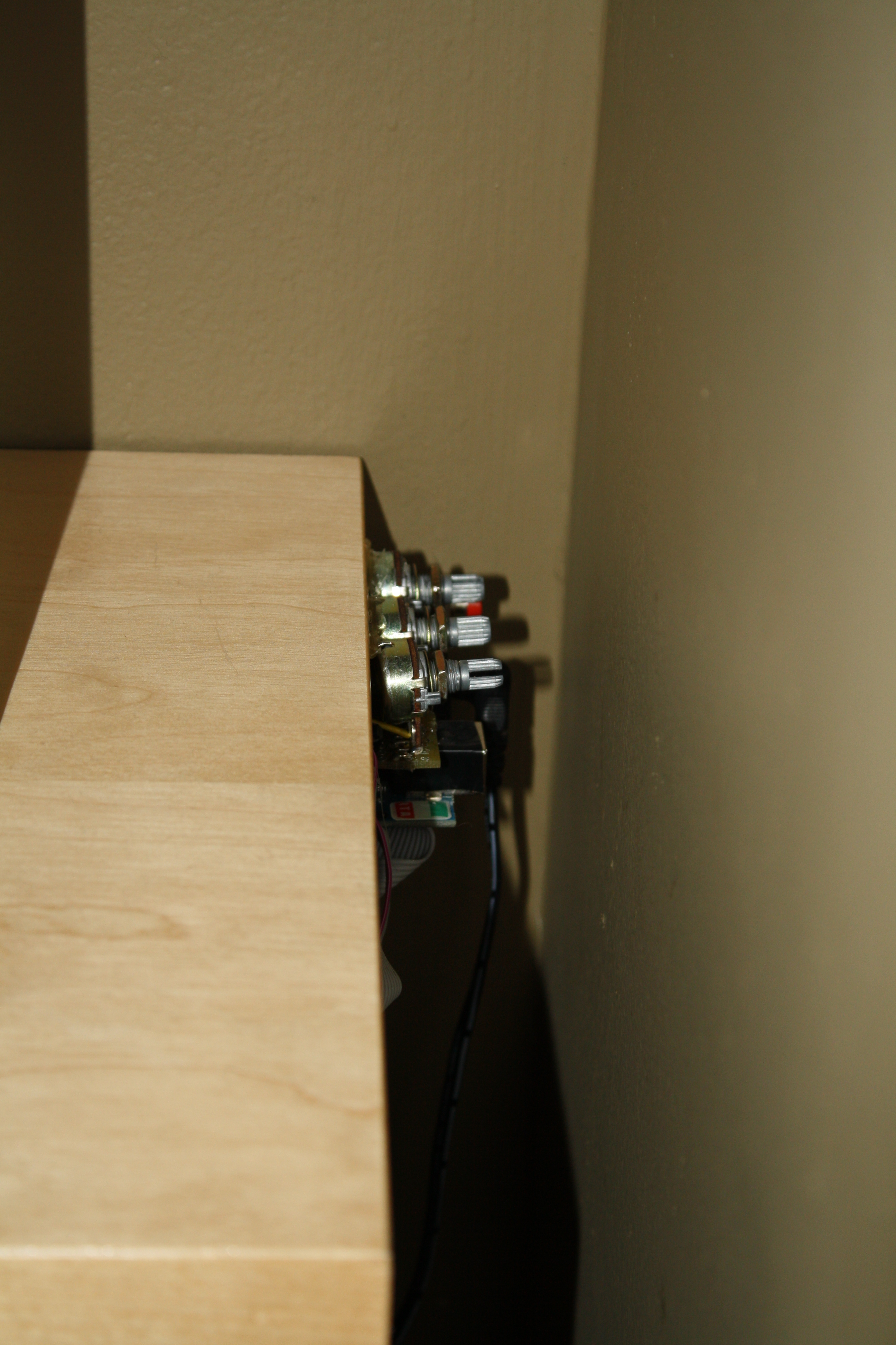 Picture of Install the LEDs Into the Shelf