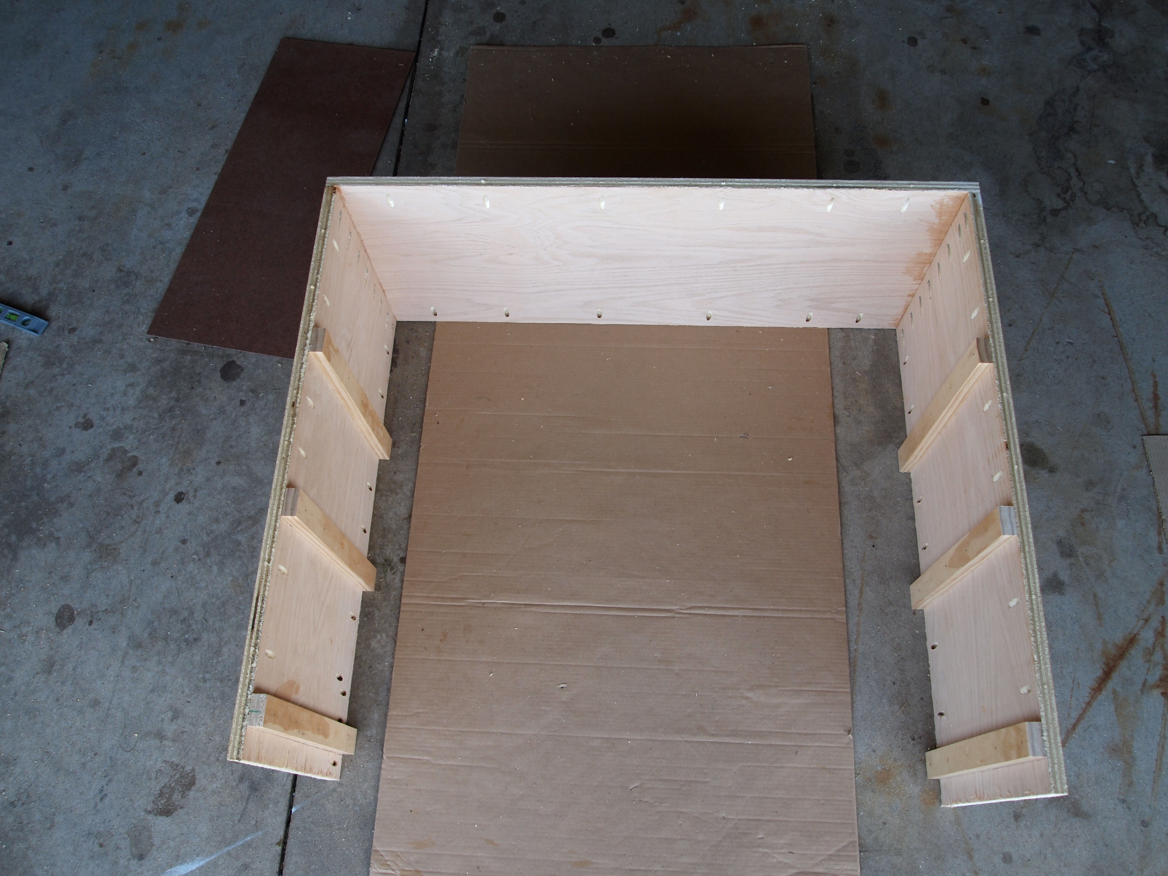 Picture of Step 1 - Assembling the Basic Frame
