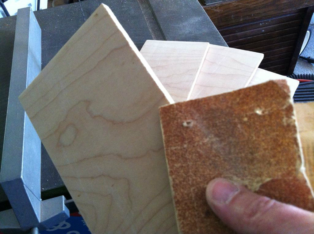 Picture of Cut and Sand the Tiles